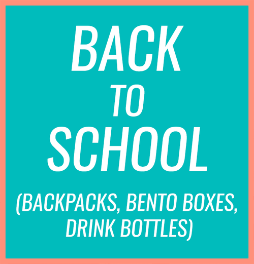 Back To School Backpacks Bentos Drink Bottles