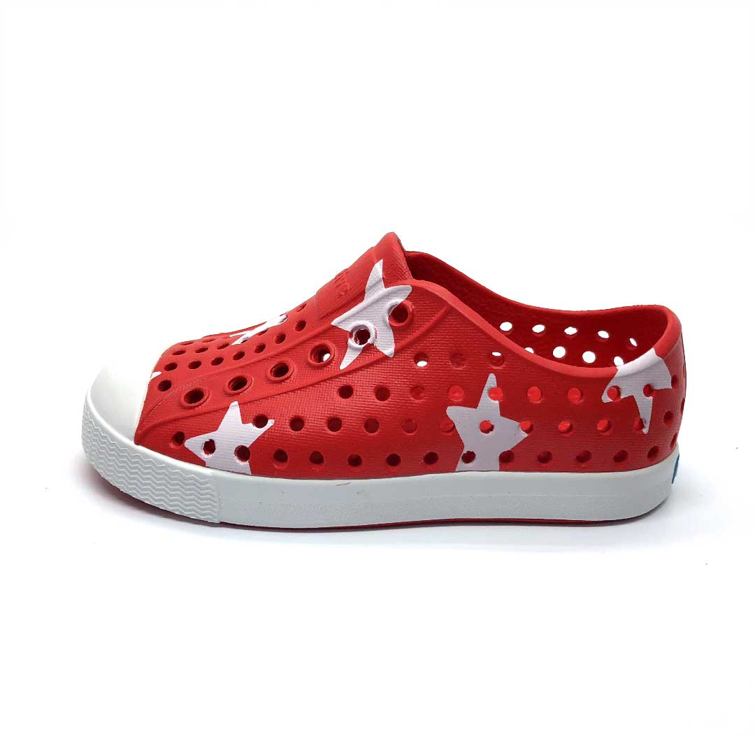 Jefferson Shoes Kid Torch Red Big star
