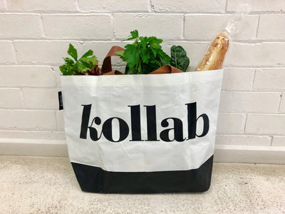 Poly Shopper Tote Logo