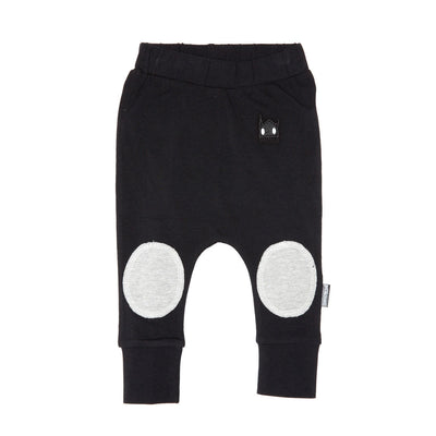 Organic Baby Circle Patch Leggings