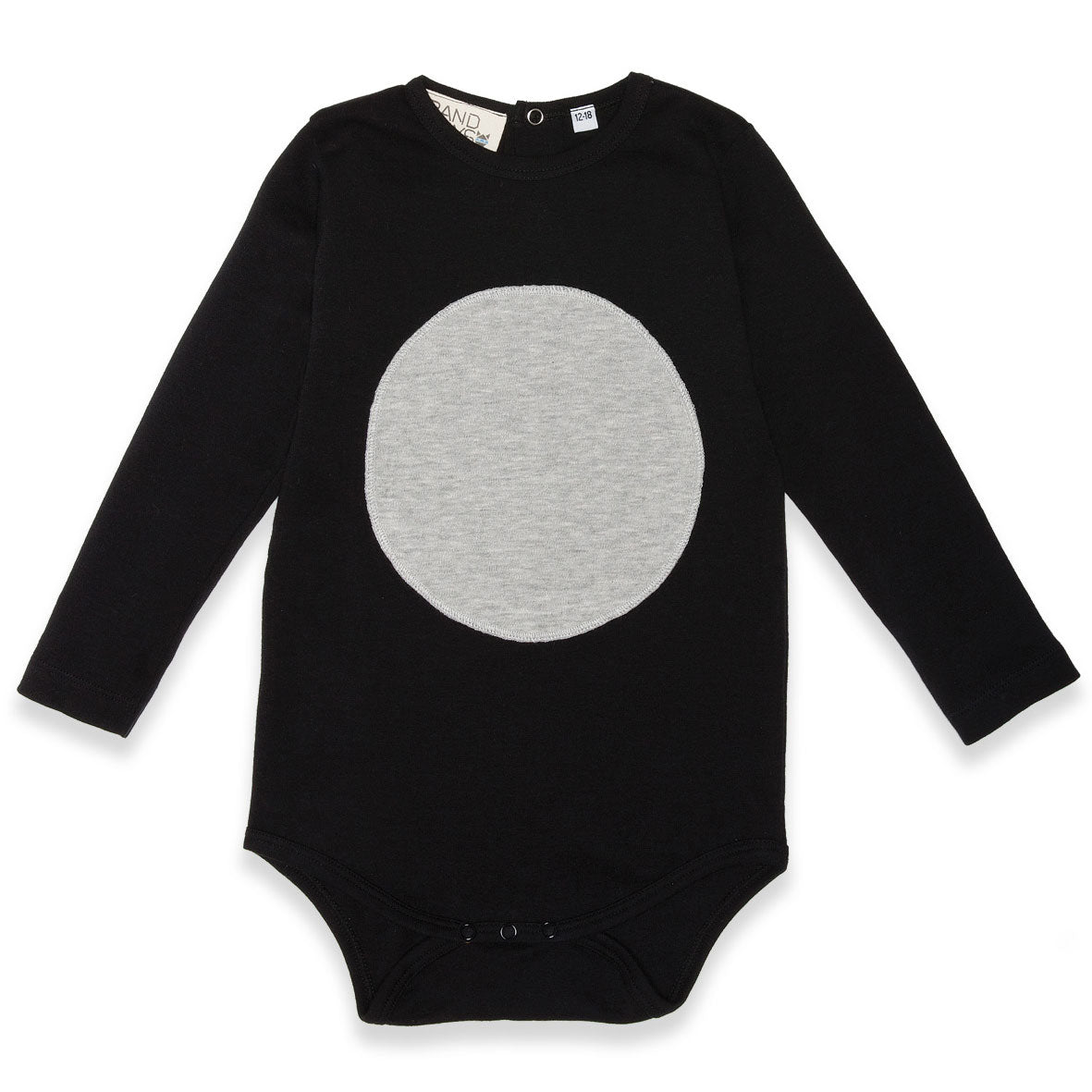 Organic Baby Circle Patch Onesie