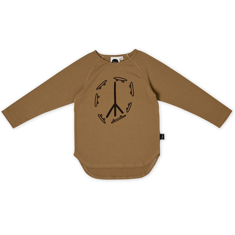 Skate and Peace LS Tee