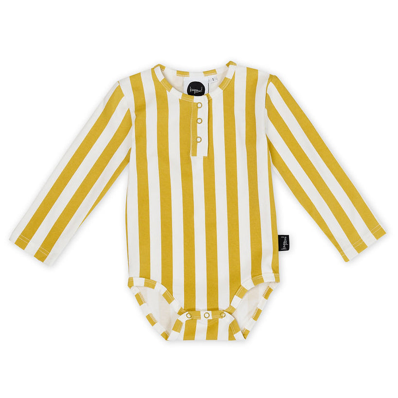 Honeycomb Stripe Baby Bodysuit