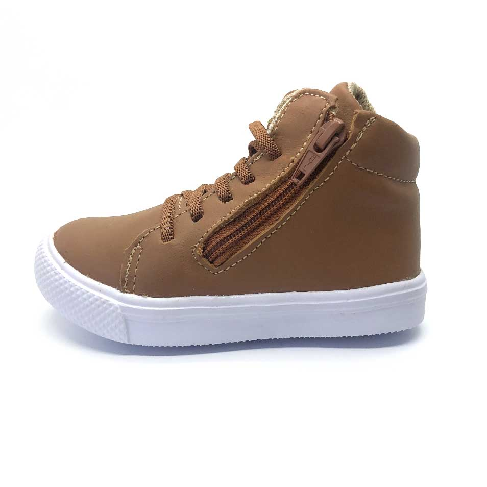 Agility Mini High Top Tan