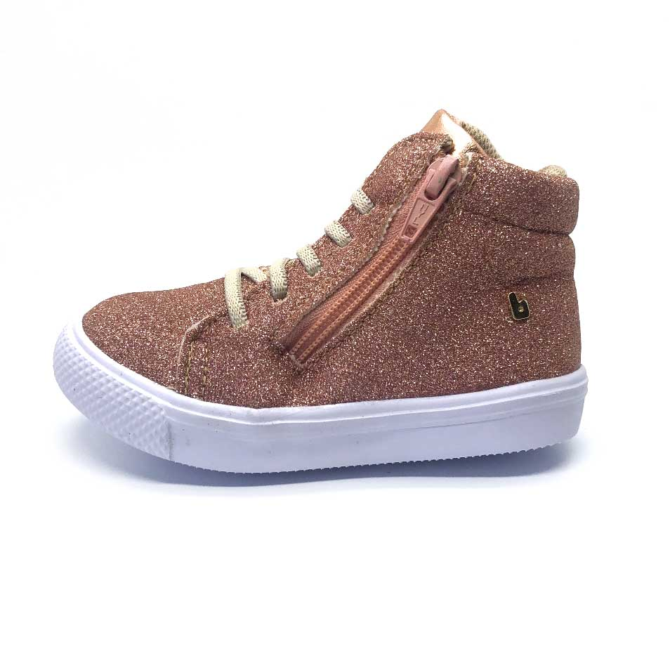 Agility Mini High Top Copper Glitter