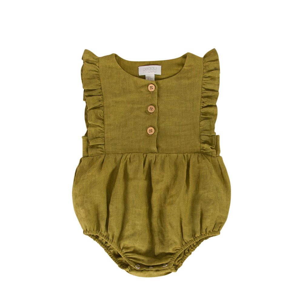 August Playsuit Khaki