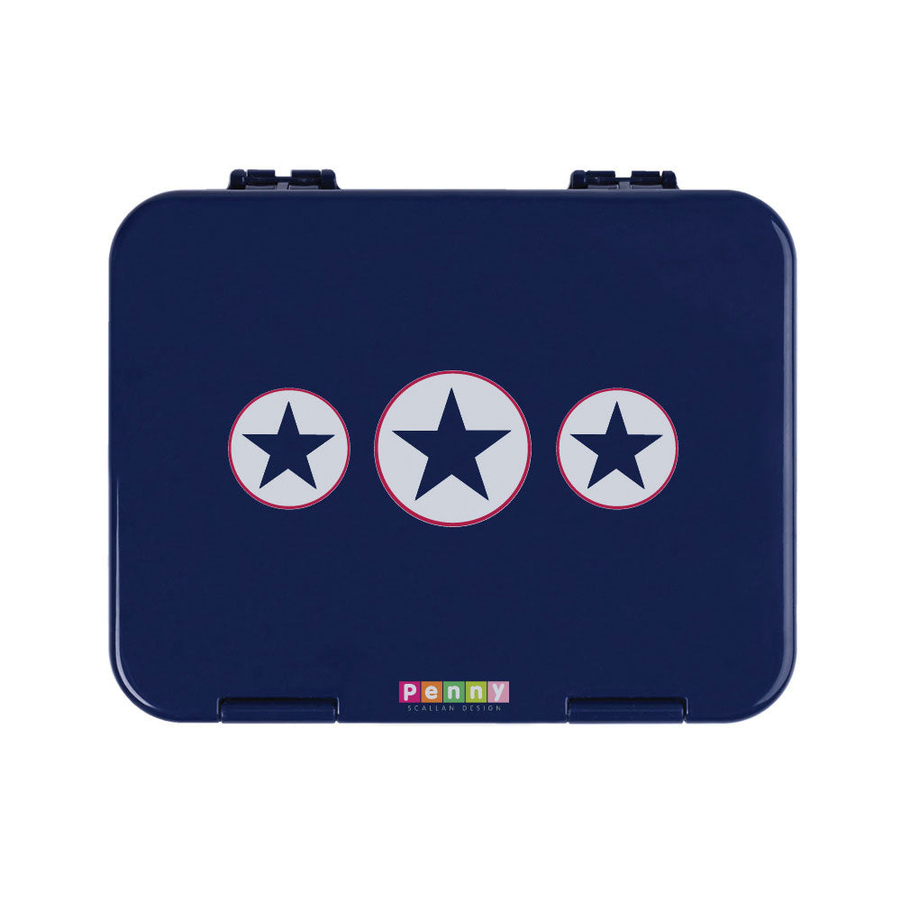 Bento Box Navy Star