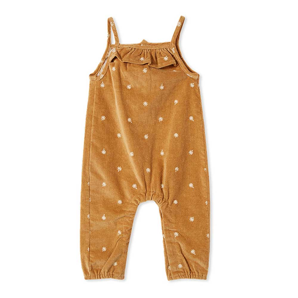 Butterscotch Girls Cord Overall