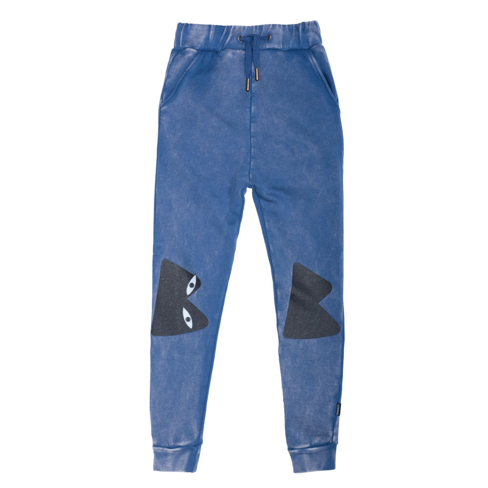 Bs Knees Skinny Trackies Vintage Blue