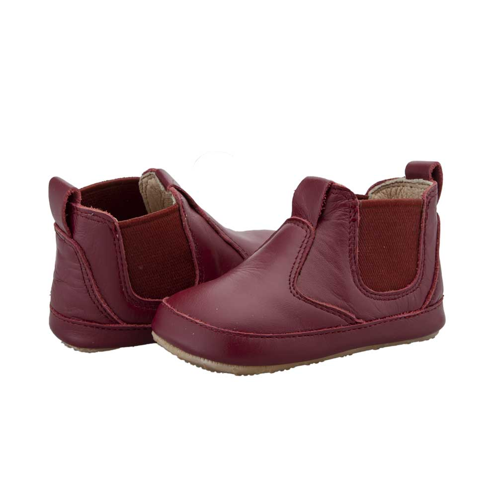 Bambini Local Baby Boot Burgundy