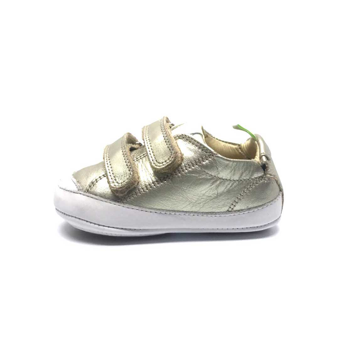 Bossy Baby Shoe White Gold
