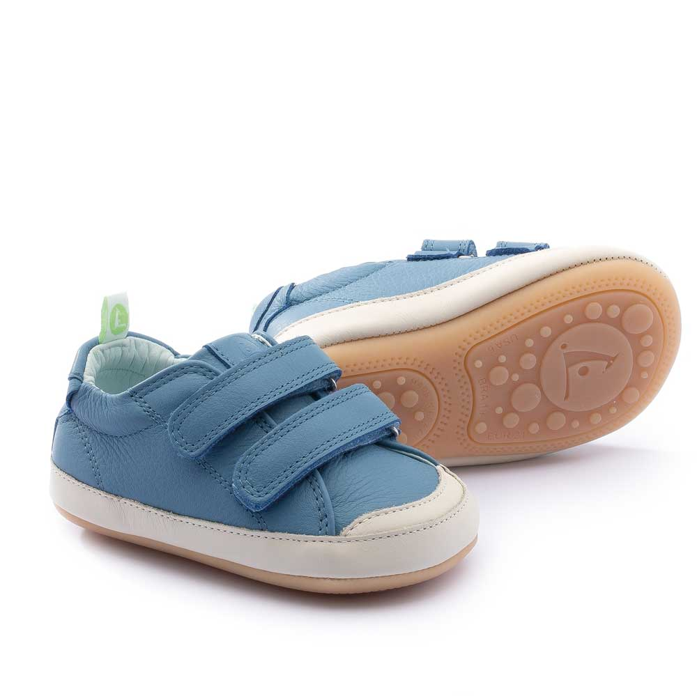 Bossy Baby Shoe Denim Tapioca