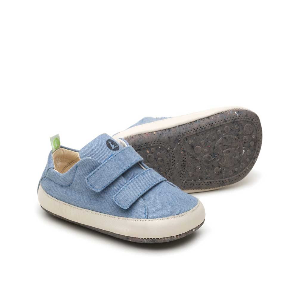 Bossy Baby Shoe Denim Canvas (green range)