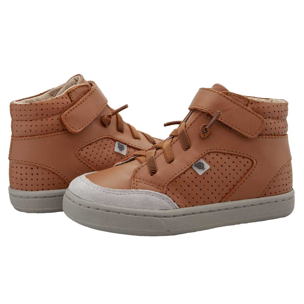 Buddy Kids High Top Tan/Grey