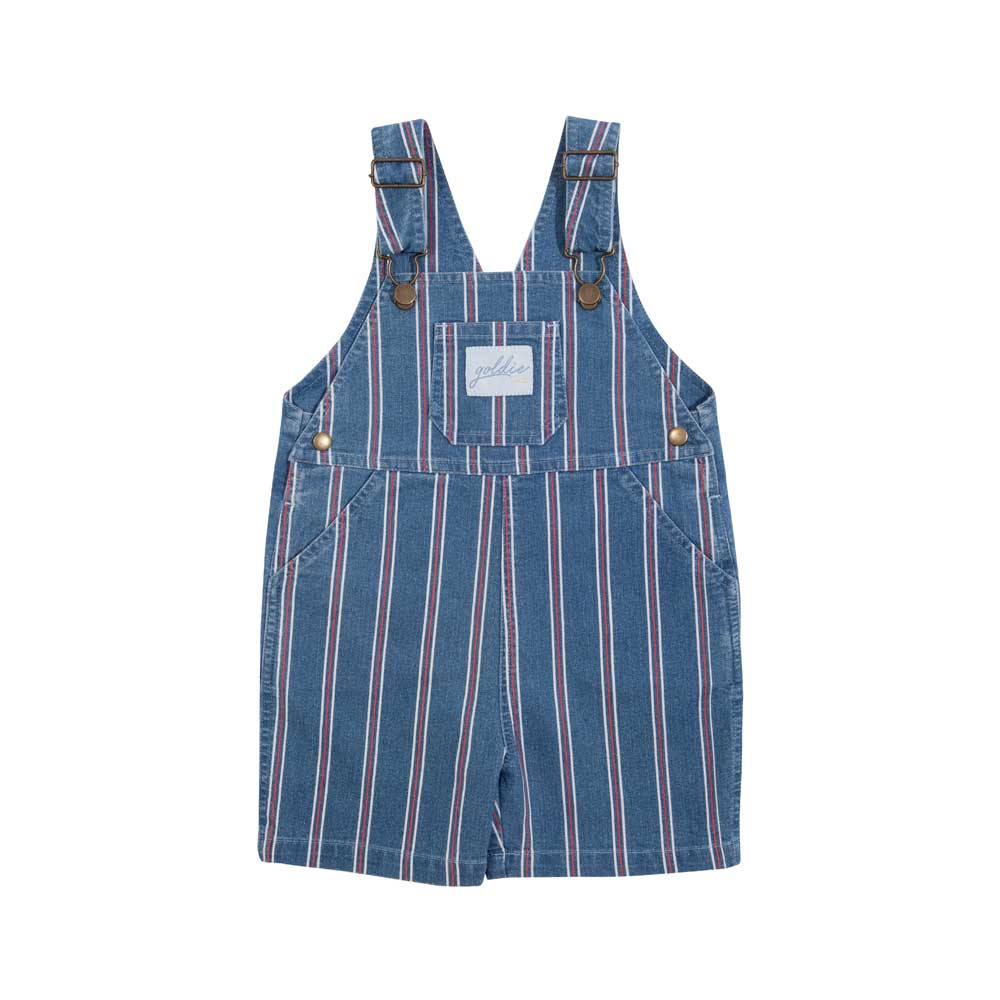 Burton Denim Stripe Overalls