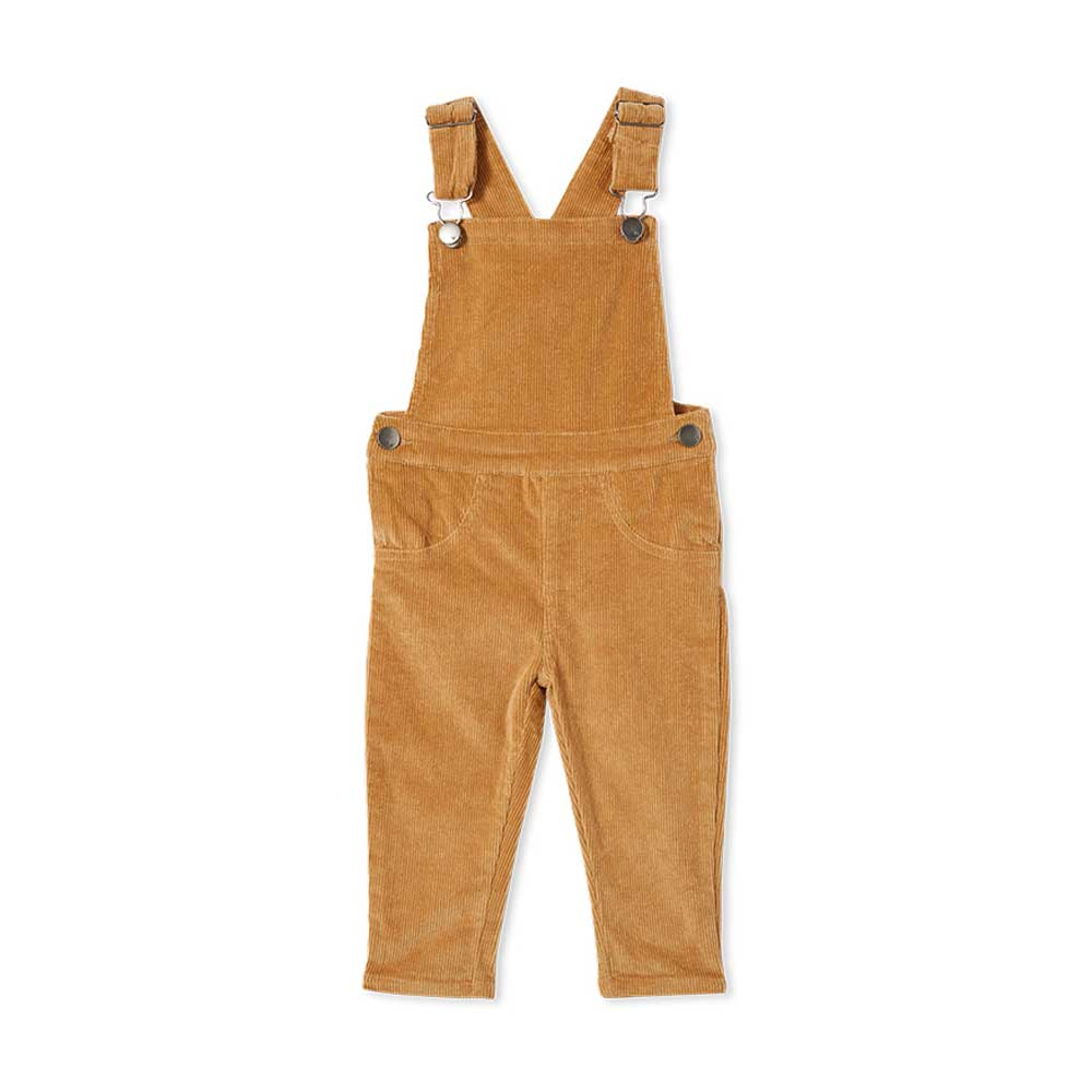 Caramel Cord Baby Overall