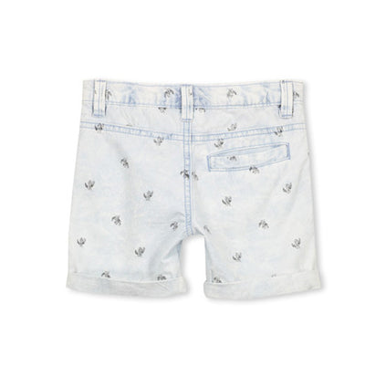 Cactus Chambray Kids Short