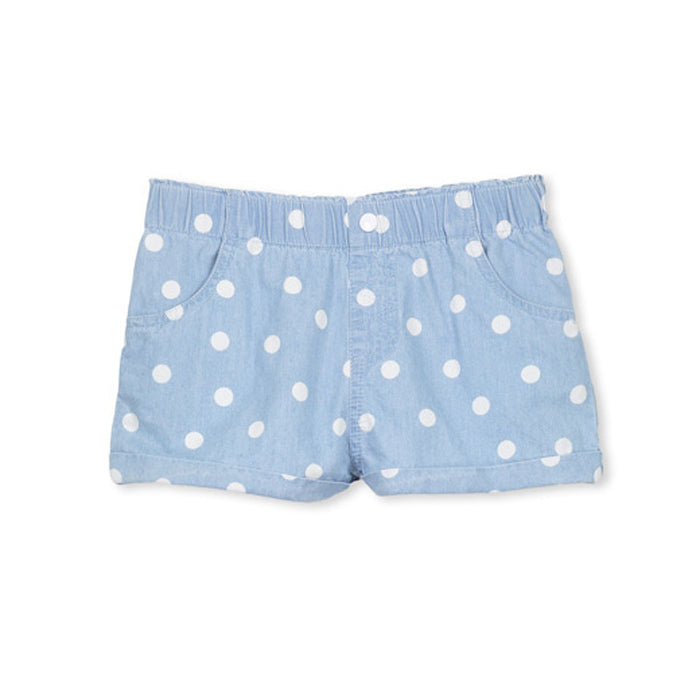 Chambray Spot Girls Short