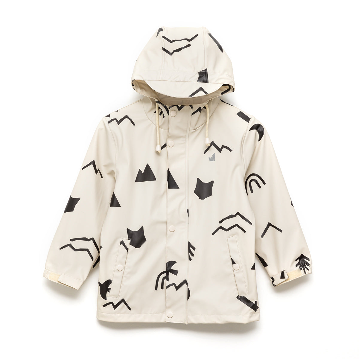 Kids Play Rain Jacket Happy Camper