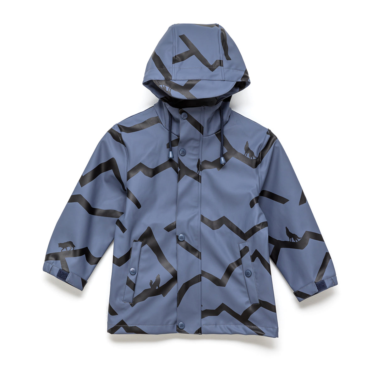 Kids Play Rain Jacket Mountain Wolf