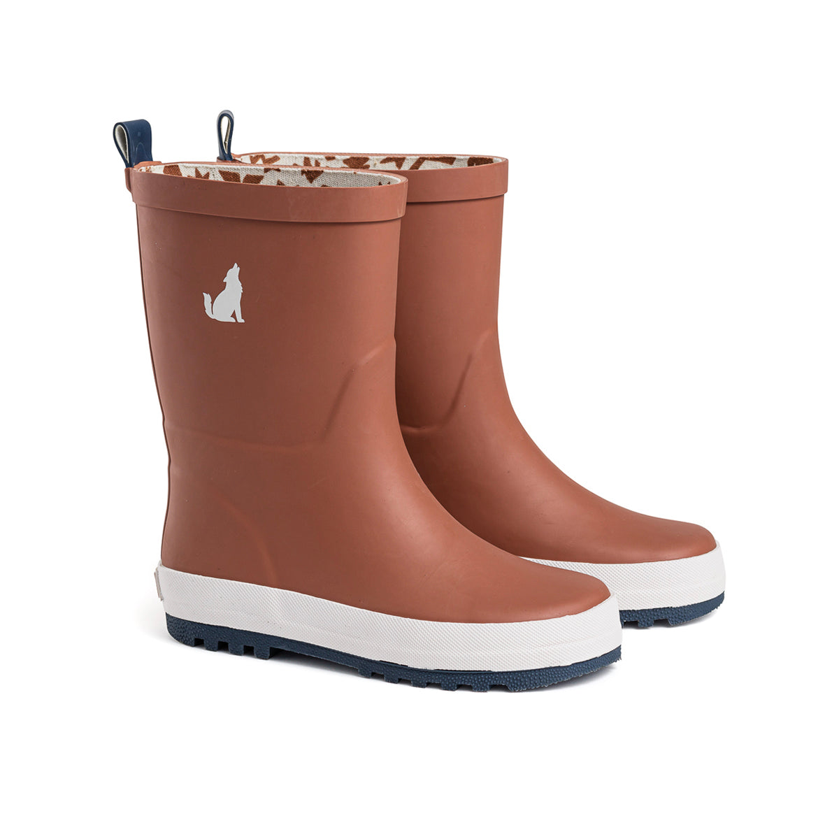 Kids Gumboot Rust