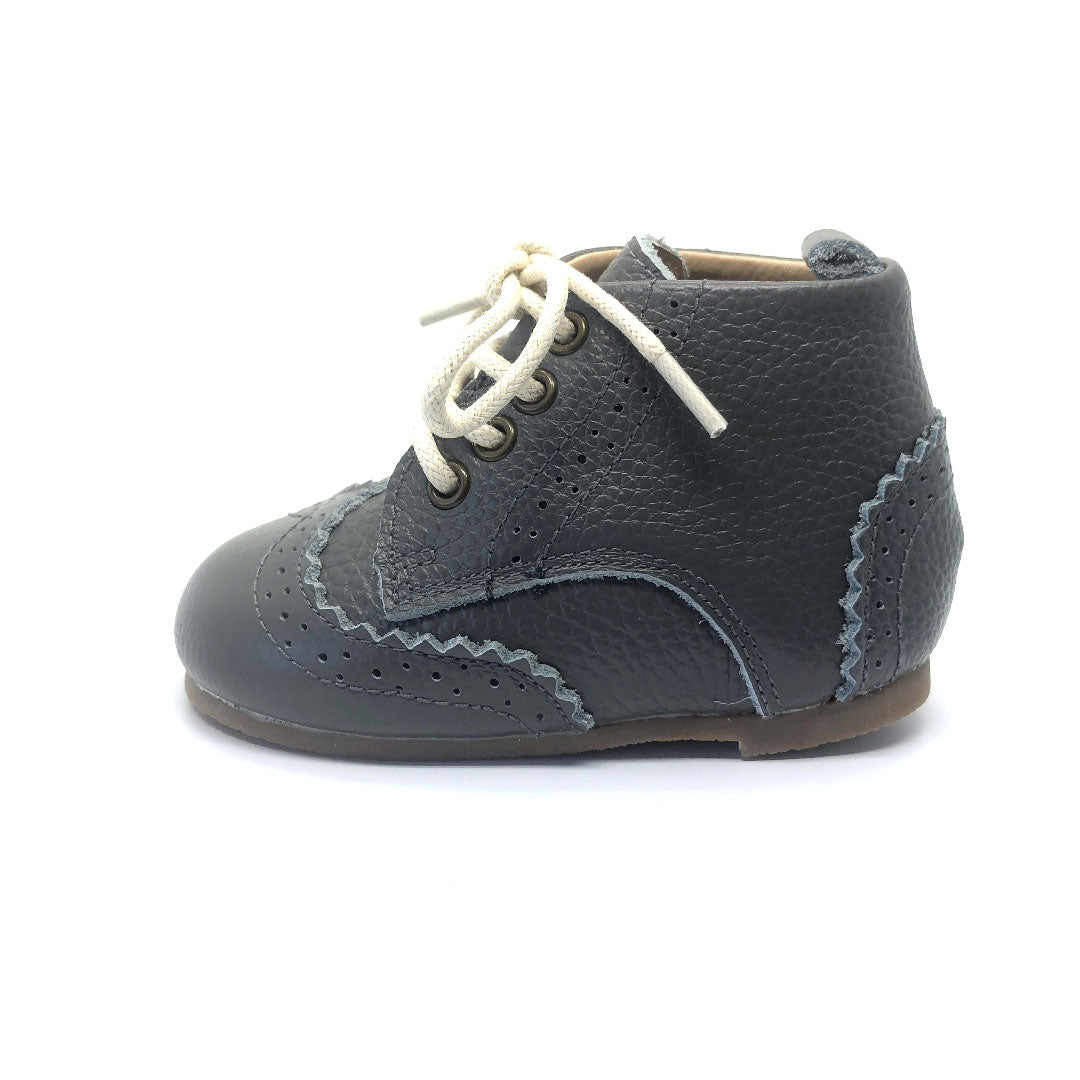 Cambridge Brogue Toddler Boot Smoke