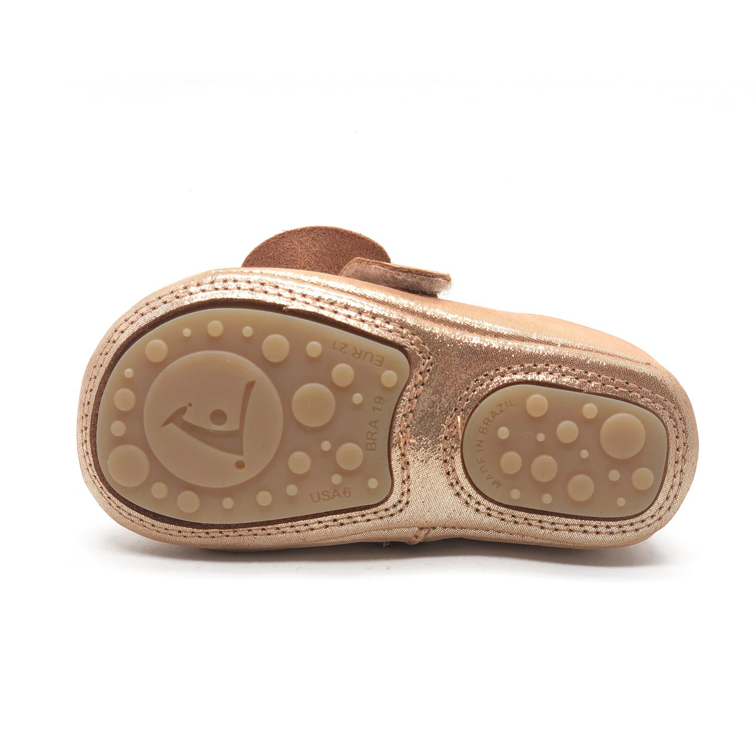 Charmy Girls Shoe Mica Gold
