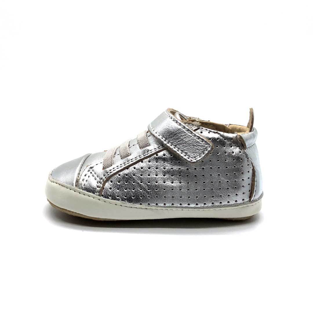 Cheer Bambini Toddler High Top Boots Silver