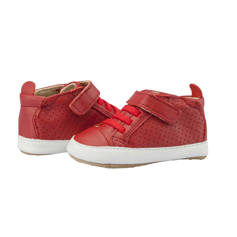 Cheer Bambini High Top Red/Snow