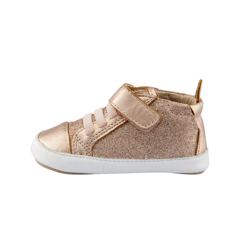 Cheer Glam Baby Shoe Copper