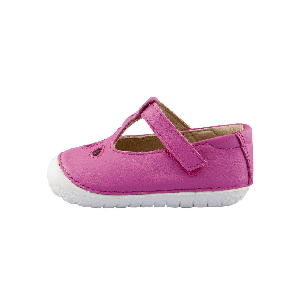 Pave Classic Toddler Shoe Fuchsia
