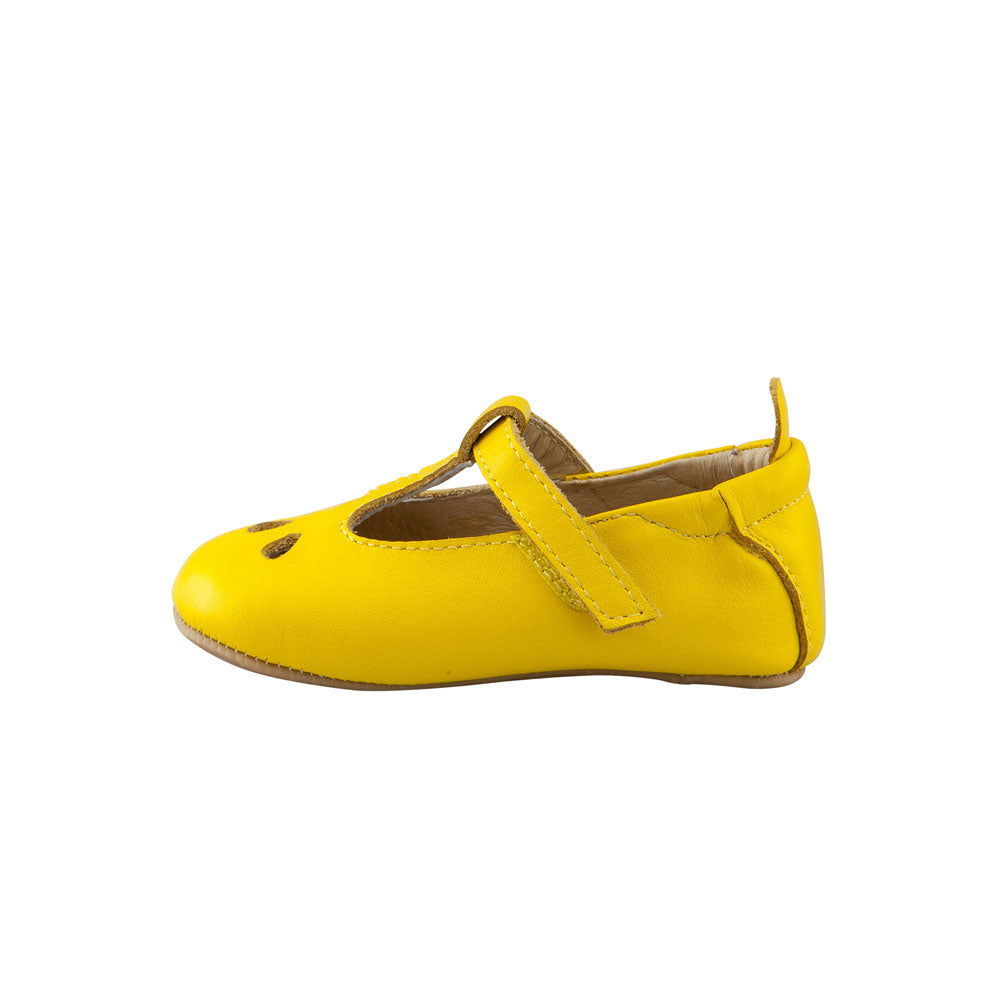 Classic T-Bar Baby Shoe Sunflower