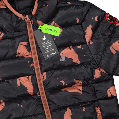 Eco Puffer Jacket Wolf