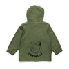 Khaki Play Rain Jacket
