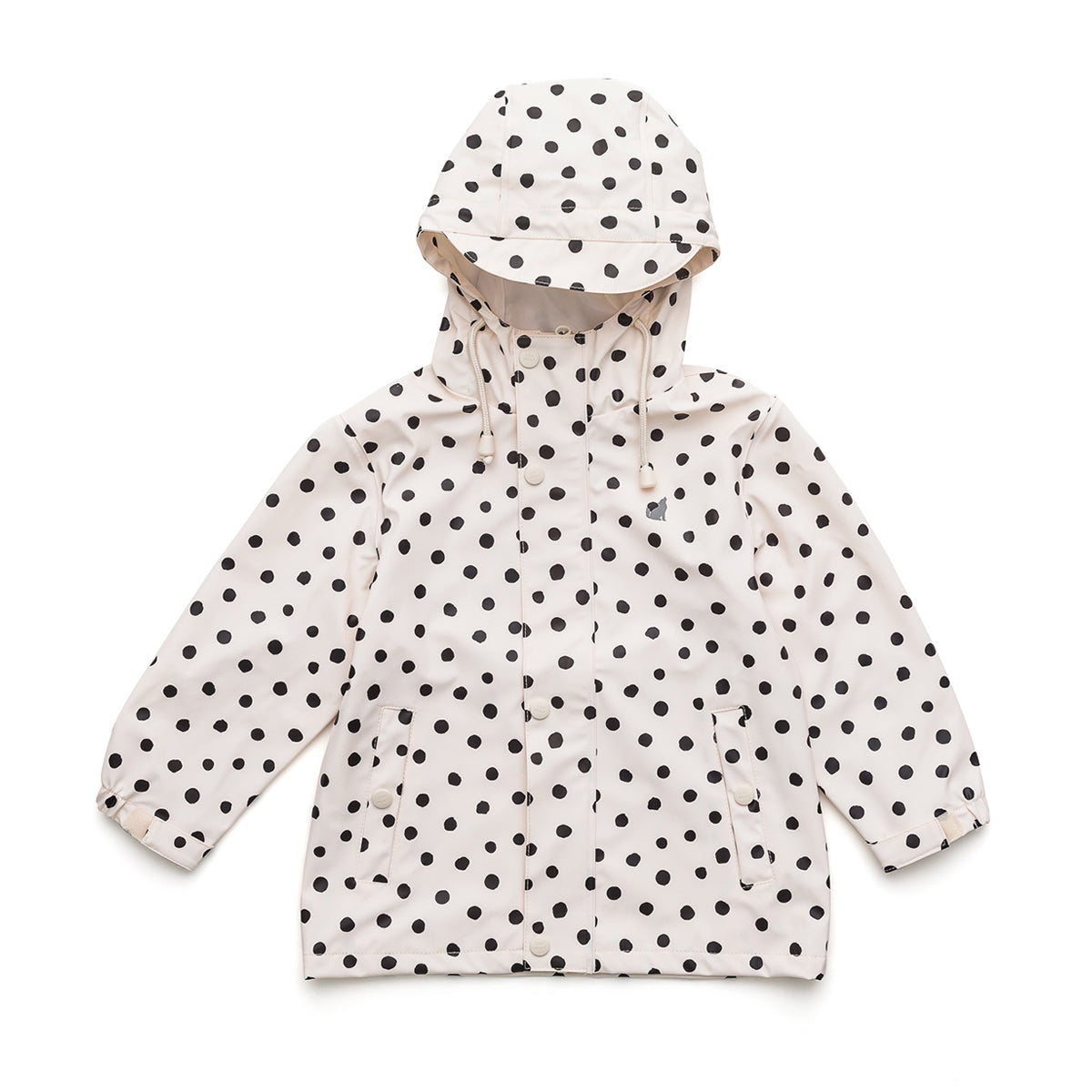 Large Spots Play Rain Jacket