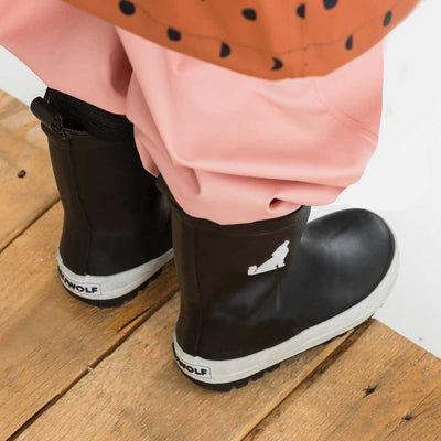 Black Toddler Gumboot