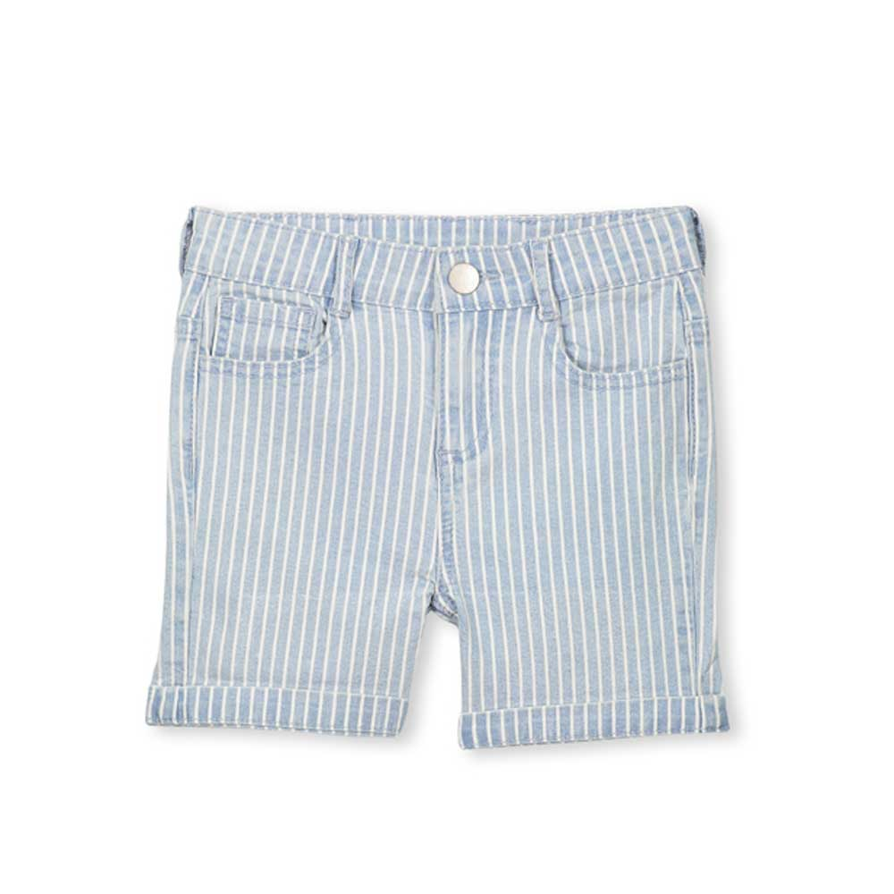 Denim Stripe Boys Short