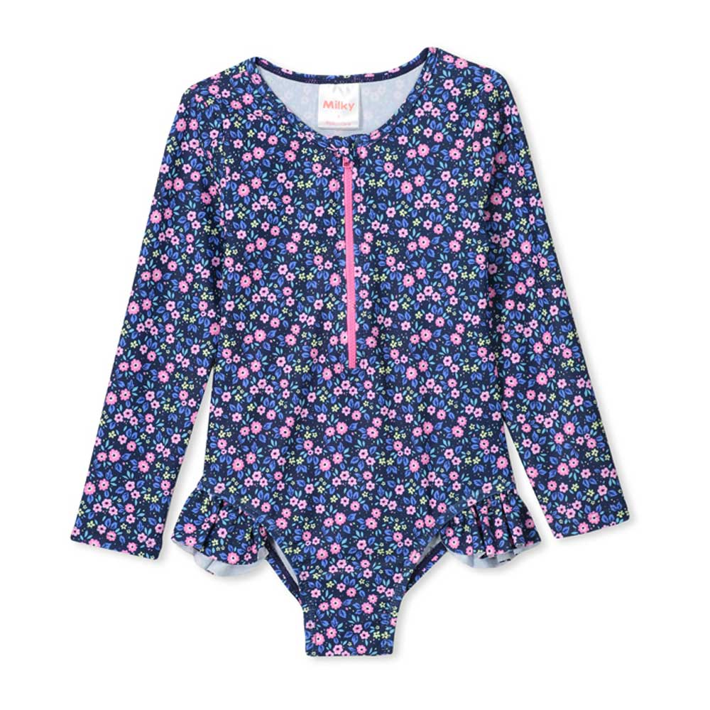 Ditzy L/S Swimsuit