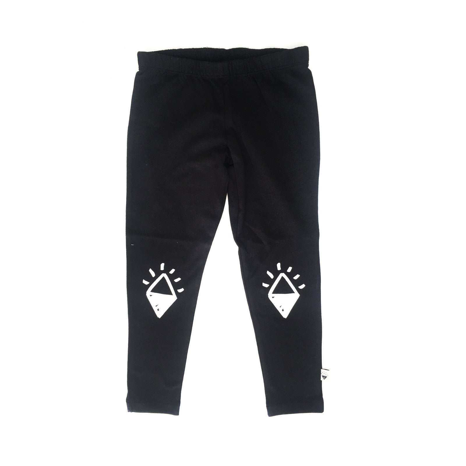 Diamond Knee Girl leggings