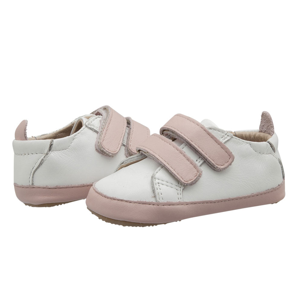 Eazy Markert Baby Shoe Snow / Powder Pink