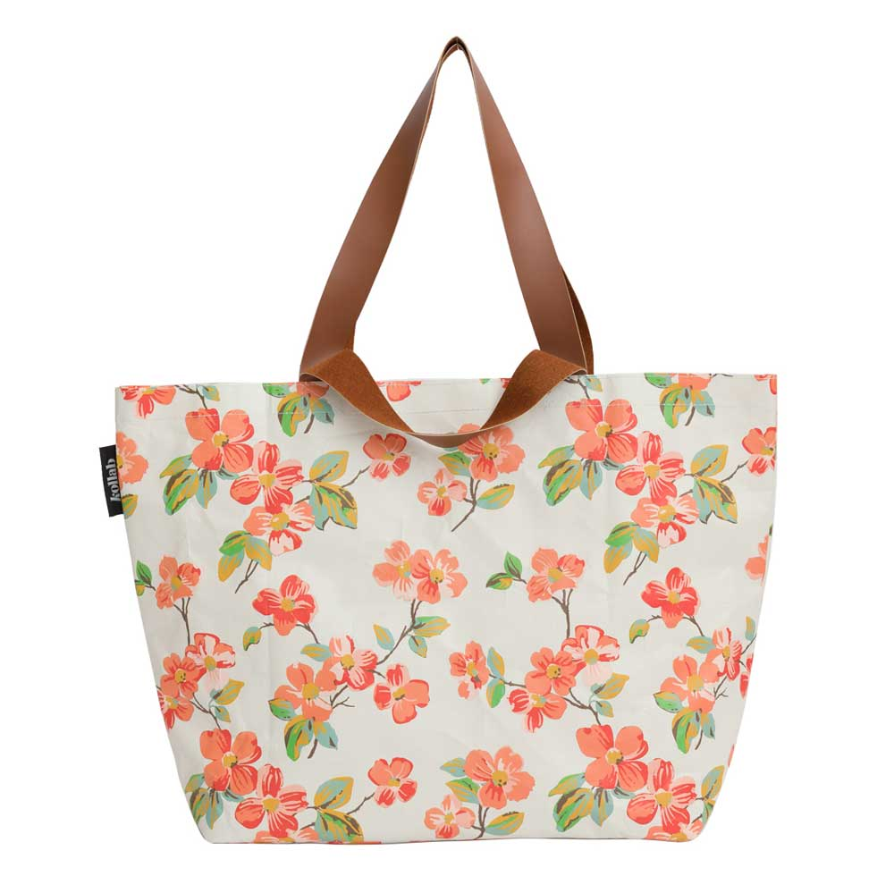 Poly Shopper Tote Elma Floral