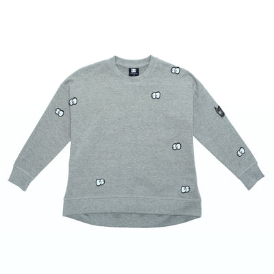 Organic Eyes in the Dark Kids Jumper