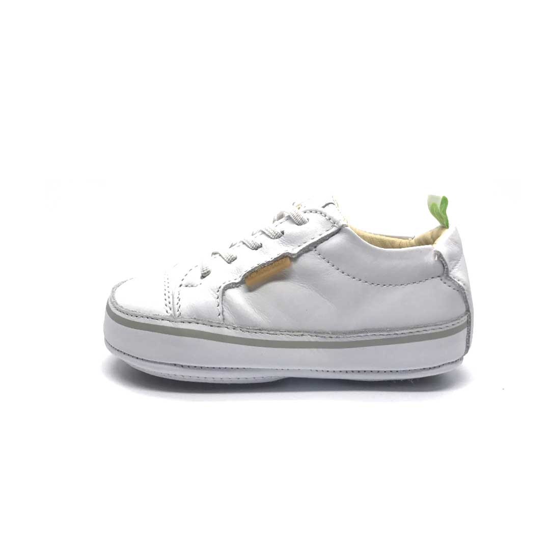 Funky Baby Shoe White (new style)