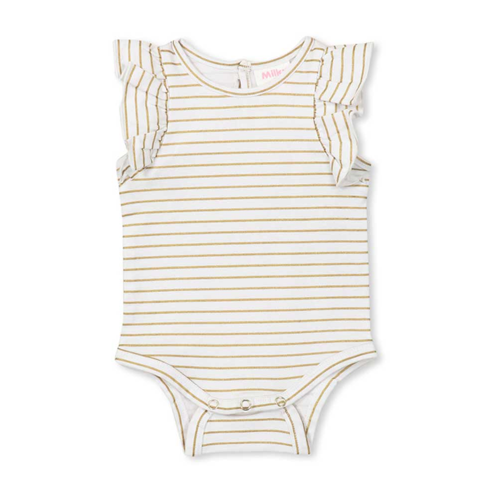 Gold Stripe Bubbysuit