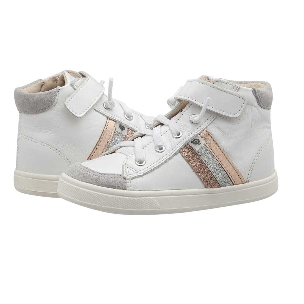 Glambo High Top Snow/copper