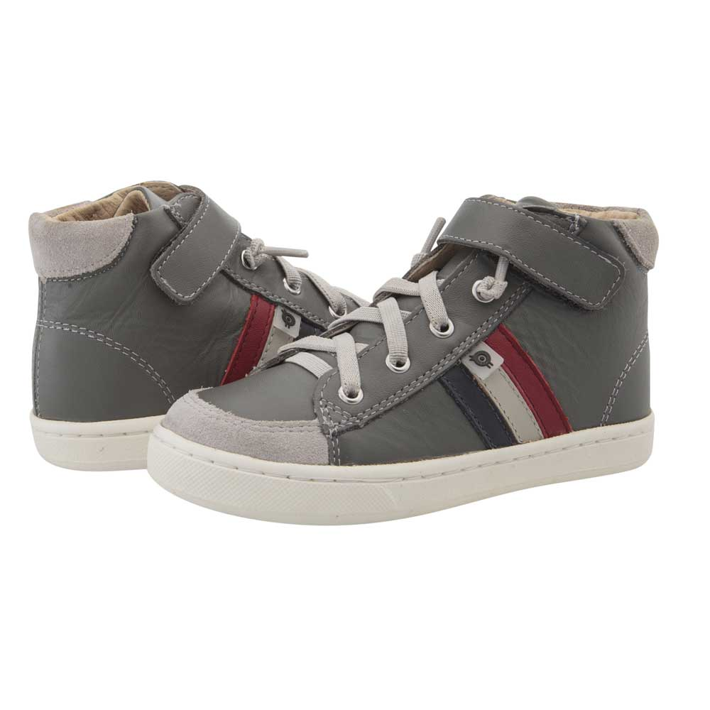 Glambo High Top Grey/Navy/Gris