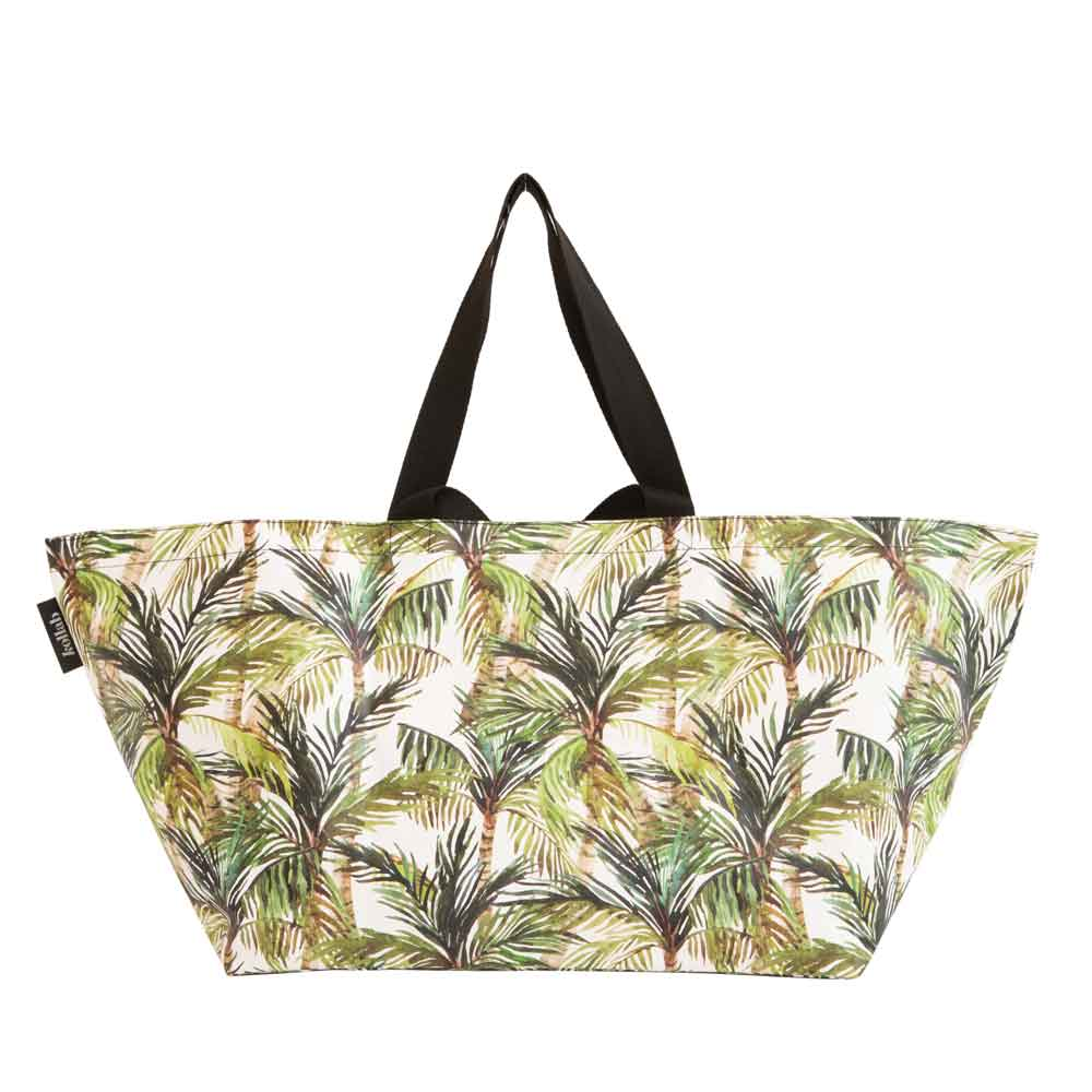 Beach Bag Green Palm