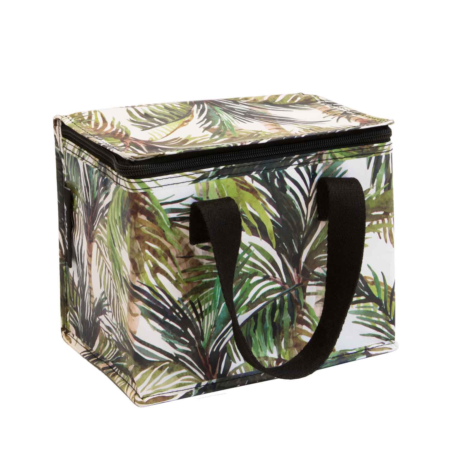 Poly Lunch Box Green Palm