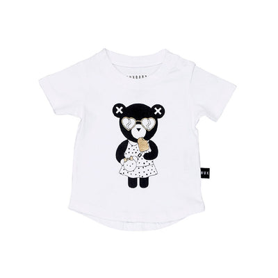 Heart Bear Tee White