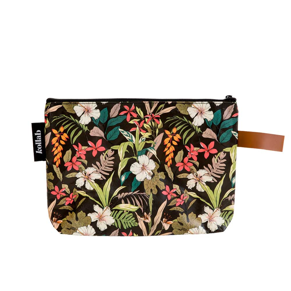 Poly Clutch Hibiscus